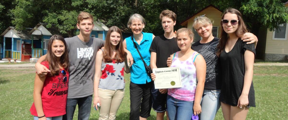 Moldova English Camp 2014